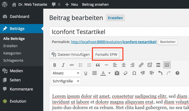 How to Use Icon Fonts in WordPress – Information Strategies