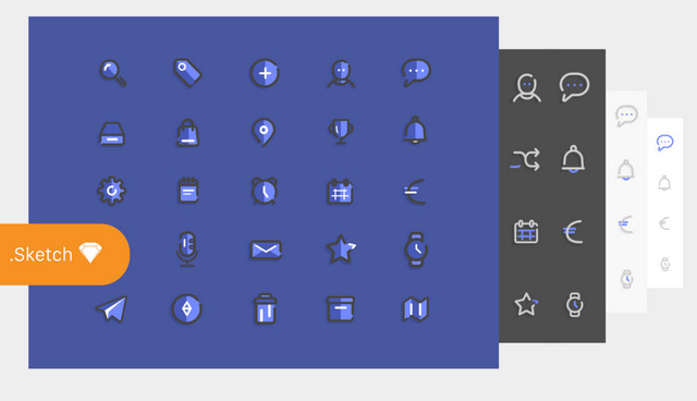icons for sketch