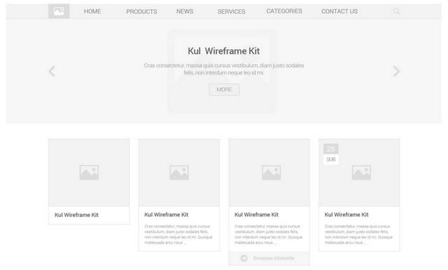 kul wireframe kit