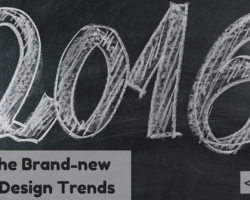 The Brand-new Logo Design Trends for 2016 [Infographic]