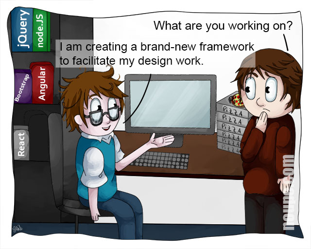 Cartoon: New Framework