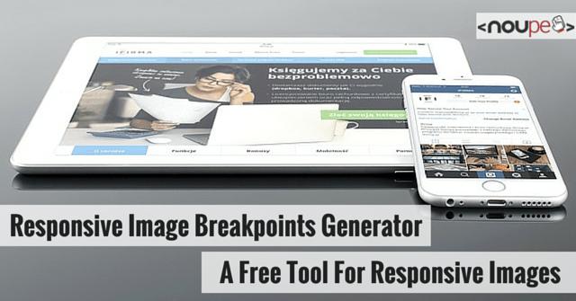 Responsive Image Breakpoints Generator: