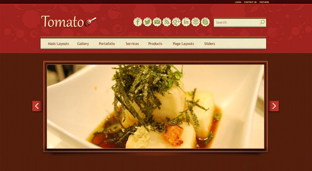 Tomatoo: Restaurant WordPress Theme
