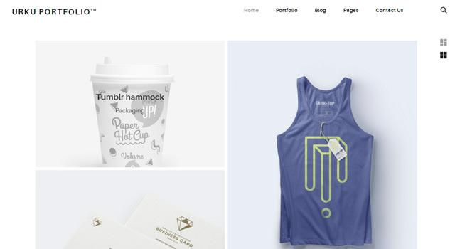 Urku: Clean Portfolio HTML5 Template