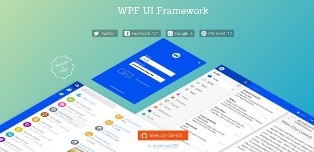 wpf ui framework