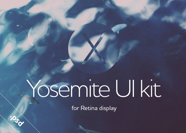 yosemite ui kit