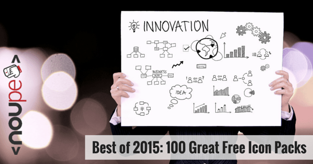 Best of 2015: 100 Great Free Icon Packs