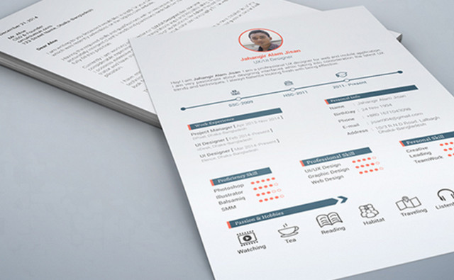 3 page resume
