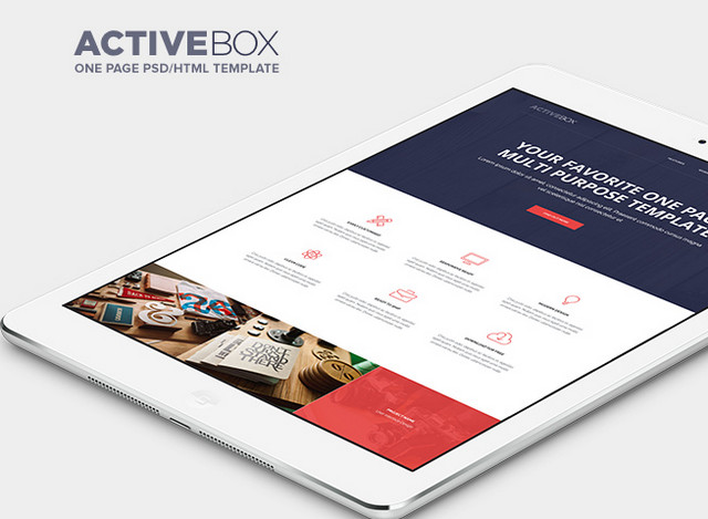 activebox template
