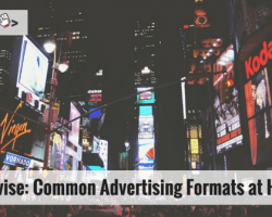 Adsvise: Common Advertising Formats at Hand