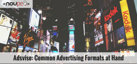 Adsvise: Common Advertising Formats at Your Hand