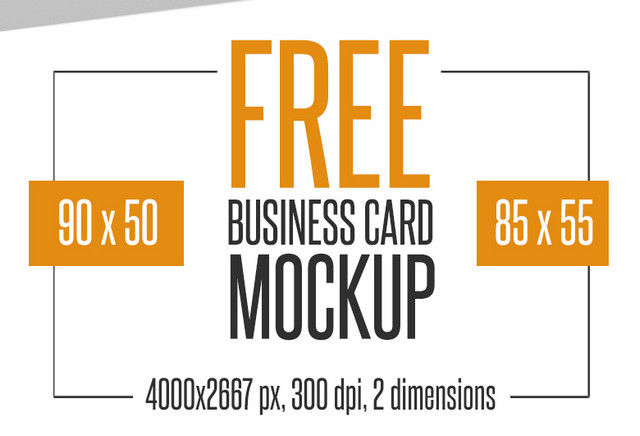 Best of 2015 100 free business cards resumes cvs corporate 4 free business card mockups colourmoves