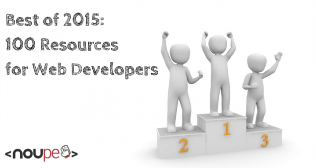 100 Resources for Web Developers