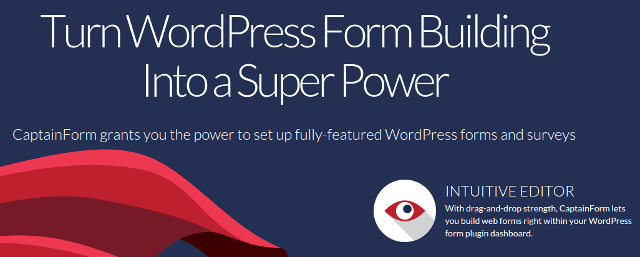 CaptainForm: Simplified Forms for WordPress - noupe