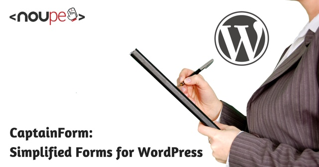CaptainForm: Simplified Forms for WordPress