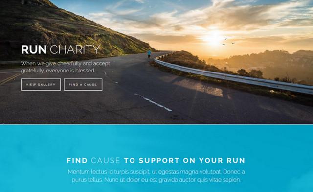 charity theme