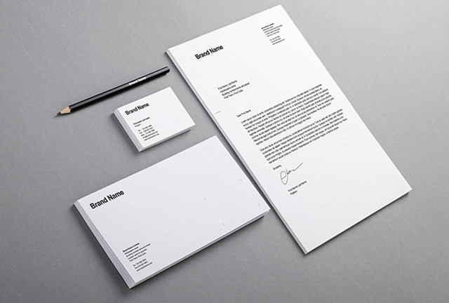 clean stationery