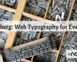 Gutenberg: Web Typography for Everyone