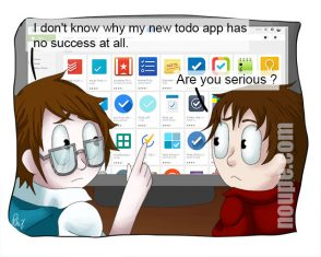 Cartoon: Me Too Do App