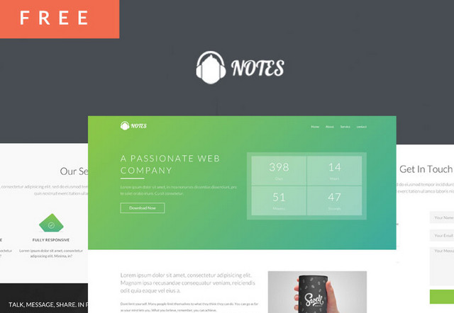 http://www.noupe.com/wp-content/uploads/2016/02/notes-theme.jpg
