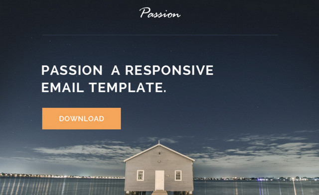 passion html