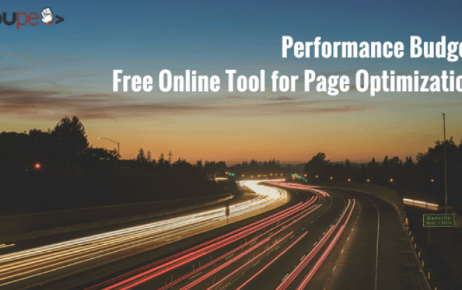 performance budget free online tool for page optimization noupe