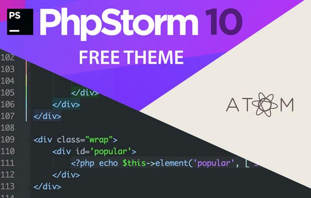 phpstorm theme 10
