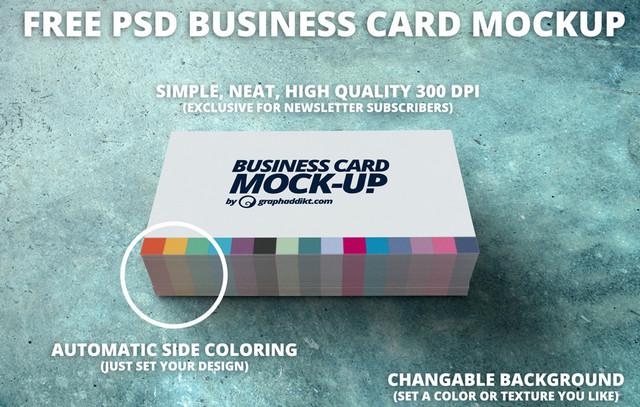 psd b-card