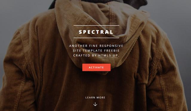 spectral theme