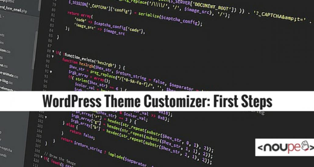 WordPress Theme Customizer: First Steps