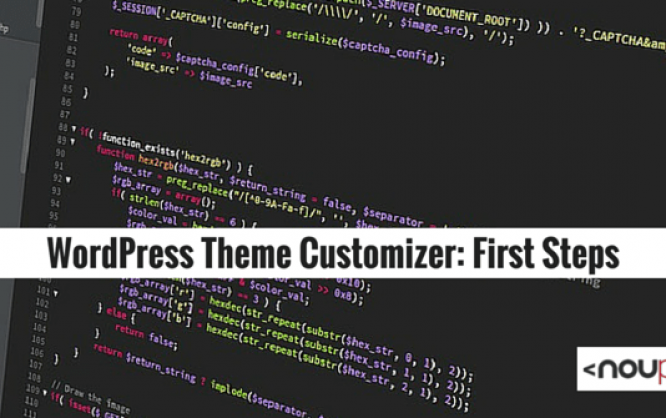 WordPress Theme Customizer: First Steps