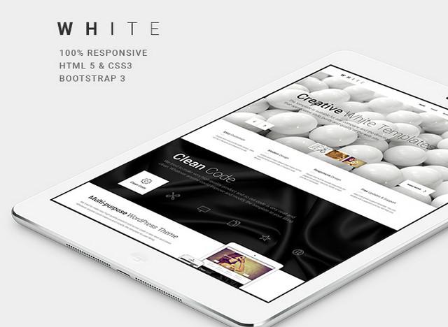 white theme