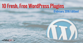 10 Free WordPress Plugins (February 2016 Edition)