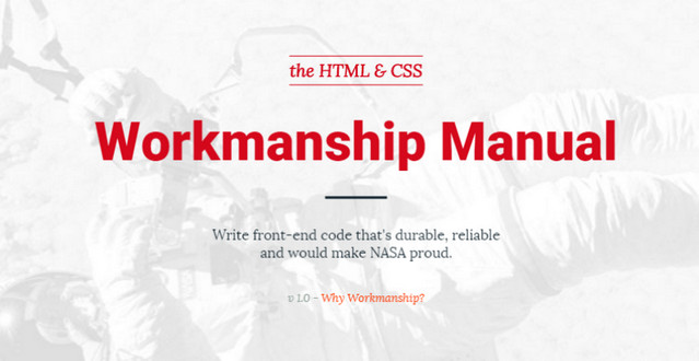 workmanship manual