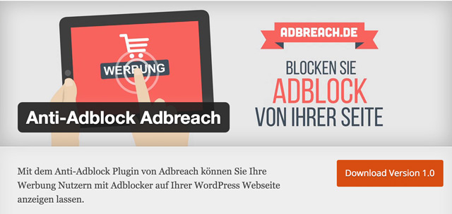 Anti-Adblock-Adbreach
