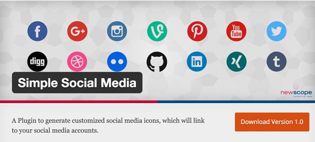 Simple-Social-Media