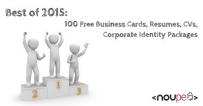 100 Free Business Cards, Resumes, CVs, Corporate Identity Packages
