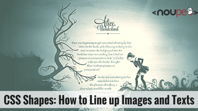 CSS Shapes: How to Line up Images and Texts