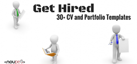 Get Hired: 30+ CV and Personal Portfolio Templates