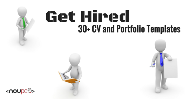 get hired  30  cv and personal portfolio templates
