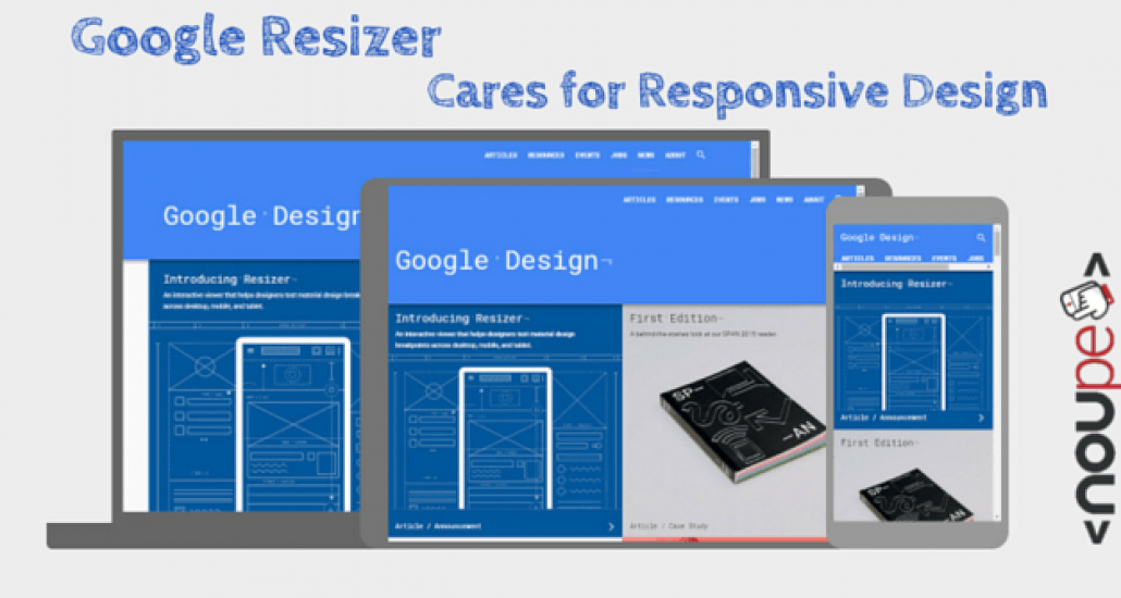 Google Calendar Responsive Design : Google resizer cares for responsive design noupe