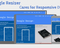 Google Resizer Cares for Responsive Design