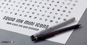 1,000 Free Icons for Web Designers by SquidInk