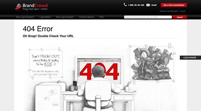BrandCrowd 404