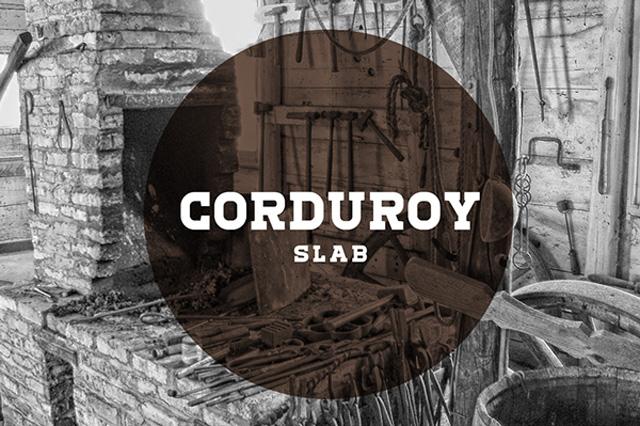 Corduroy-Slab