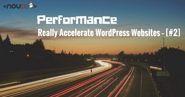 Accelerate WordPress Websites