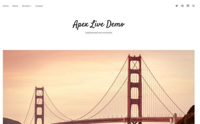 apex theme