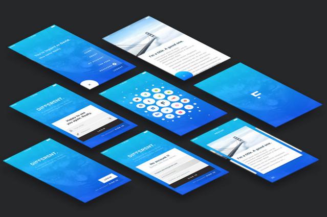 bluish screens