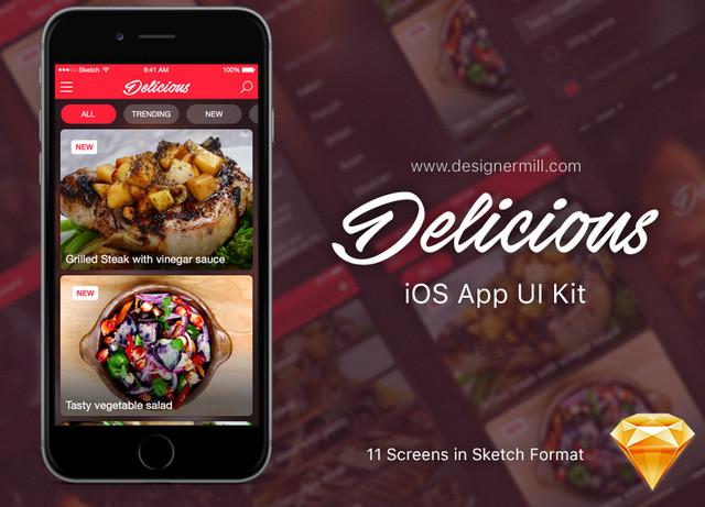 delicious ios app