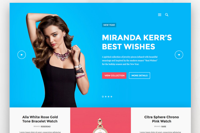 ecommerce page